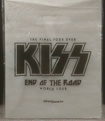 KISS End Of The Road World Tour Concert Merchandise Bag FREE SHIPPING