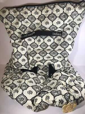 INFANTINO High Chair Shopping Cart Cover Baby Child Black Ivory Brand New