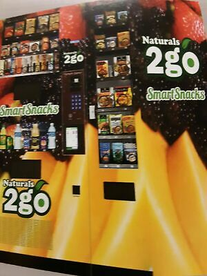 Seaga N2G5000 Healthy Combo Vending Machine with Smart Tablet/Credit Card Reader