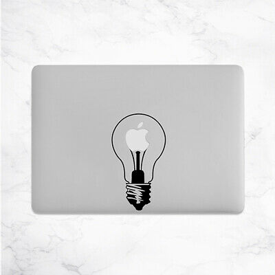 Funny Light Bulb Lamp Decal for Macbook Pro Sticker Vinyl Laptop Mac Notebook 13