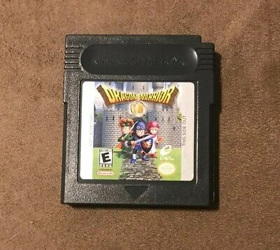 Dragon Warrior I II Nintendo Game Boy ~ Works Great! Fast Shipping! Authentic!