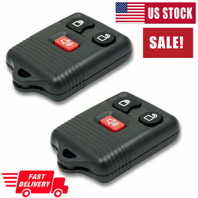 2PCS Car Key Fob Keyless Entry Remote Control For Ford F150 F250 F-350 F-450 USA