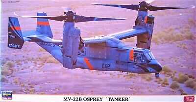 MV-22 OSPREY 'Tanker' USMC 'LIMITED EDITION' Model Hasegawa 1/72 Scale Aircraft