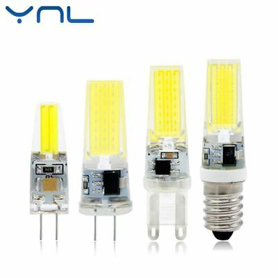 Mini Lampe LED G4 G9 E14 AC / Dc 12V 220V 3W 6W 9W Cob G4 G9 Ampoule Dimmable