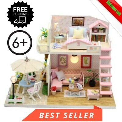 New LOL SURPRISE DOLL HOUSE Made with REAL WOOD - Furniture Diy House kids Gift