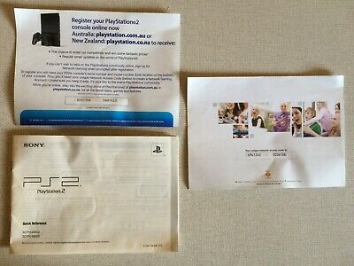 PS2 Playstation 2 Instructions Manual for SCPH-90002