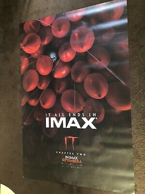 It Chapter 2 Original Imax Cinema Poster