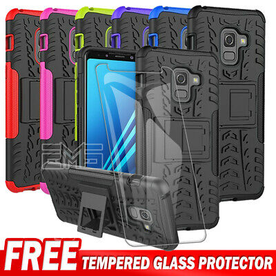 Samsung Galaxy J2 J5 J7 Pro A8 J8 2018 Shockproof Rugged Heavy Duty Case Cover