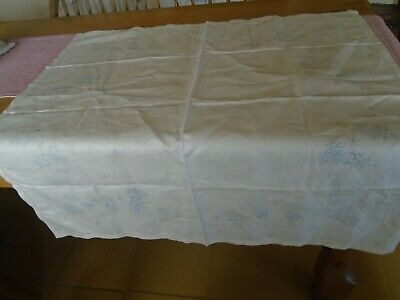 Irish Linen Tablecloth For Embroidering - Stamped Embroidery