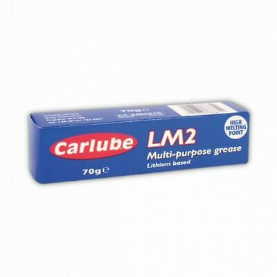 Carlube LM2 Multi Purpose Lithium Grease Lubricant  70g Tube