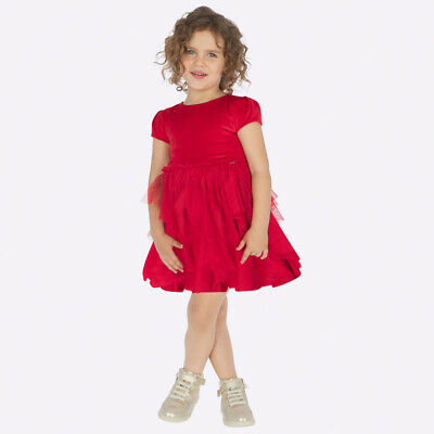 New Mayoral Girls Combined Tulle dress, Age 2 years (4924)