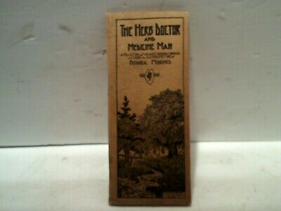 1938 Illinois Herb Company The Herb Doctor booklet and medicine advertising