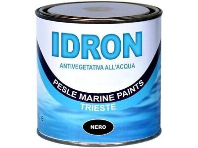 Marlin IDRON Antivegetativa all'Acqua Blu 0,75Lt #46100002 Nautiline 46100002 10