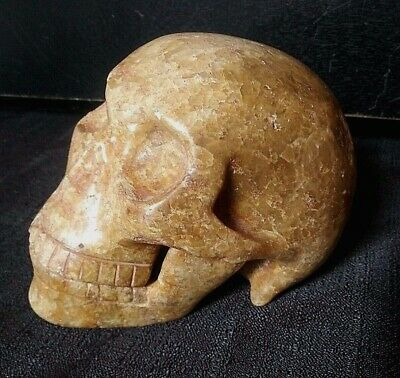 Pre-Columbian Mayan Stone Skull 450-650 AD w/Documentation