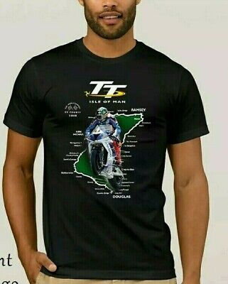 Motorcycle Isle Of Man Tt - T Shirt Great Quality Xxxl - Uk Seller