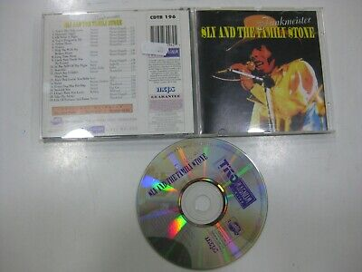 Sly And The Family Stone Cd U.k. Funkmeister 1999