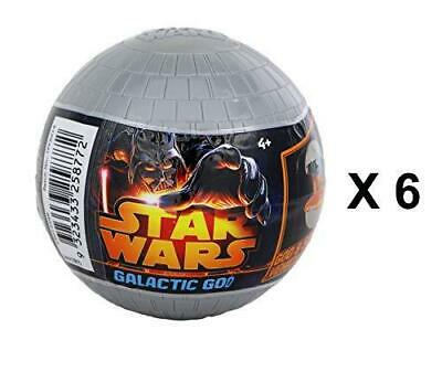 Star Wars Death Star Galactic Goo Mini Vehicle Mystery Eggs - Party Favour 6 Pk