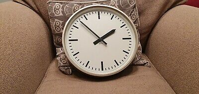 Goverment Post Office British telecom 1969 GPO mk1 converted 70's wall clock