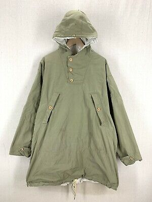 Vintage 40's WW2 M42 US Army Military Reversible Mountain Parka Distressed