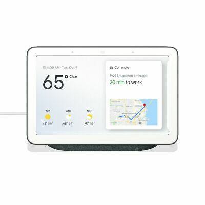 Google Nest Hub with Built-In Google Assistant, Chalk (GA00516-US) Bluetooth
