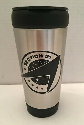 Star Trek Discovery Section 31 Stainless-Steel Tumbler Push Lid 14 oz BPA Free
