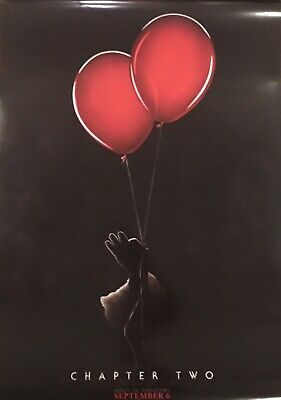 NEW IT Chapter 2 Original DS Movie Theater Poster 27x 40 Stephen King Teaser Ver