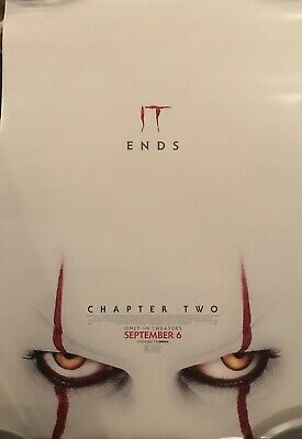 NEW IT Chapter 2 Original DS Movie Theater Poster 27x 40 Stephen King Final Ver