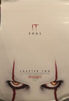 NEW IT Chapter 2 Original DS Movie Theater Poster 27x 40 Stephen King no credits