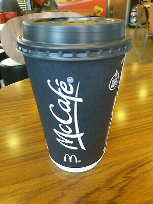 120 McDonalds Coffee White Bean Stickers (20CUPS) Hot Drinks EXPIRE 31/12/20
