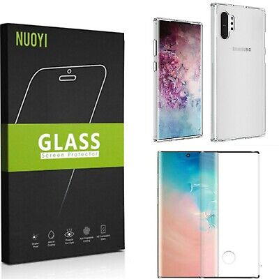 For Samsung Galaxy Note 10 / Note 10 + Plus 5G Clear Case With Screen Protector