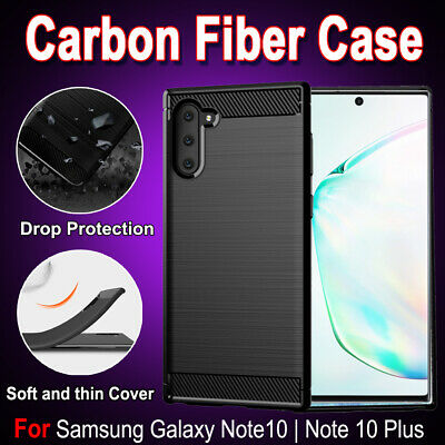 Samsung Galaxy Note10 Note 10 Plus Shockproof Carbon Fiber Heavy Duty Case Cover