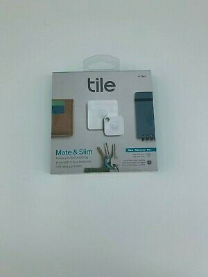 Tile Mate and Slim Combo Item Tracker Pack of 4 (RT-16004)