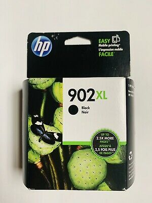 HP 902 XL High Yield Black Original Ink Cartridge Genuine Brand New Sealed