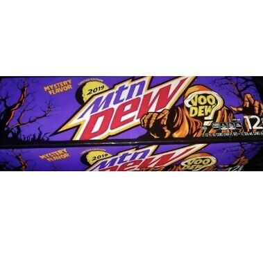 1x 12oz 12pk mountain dew voodew in hand voodoo limited edition Selling fast!!!!