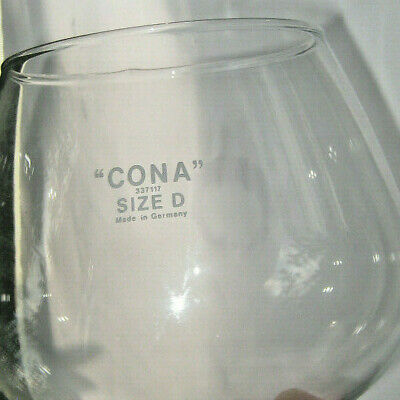 Glass Funnel Cona Size D 337117 Made in Germany Coffee Maker