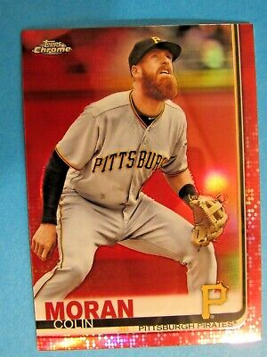 2019 Topps chrome MORAN COLIN RED Refractor  Number  1 of only 5 1/5 produced