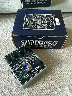 EHX Electro Harmonix Superego Synth Engine Guitar Effects Pedal