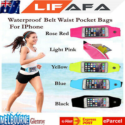 Running Bum Bag Fanny Pack Travel Waist Bags Money Zip Belt Pouch Sport Wallet F