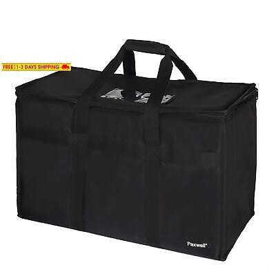Large Insulated Food Delivery Bag For Uber Eats, Doordash Drivers, Catering And
