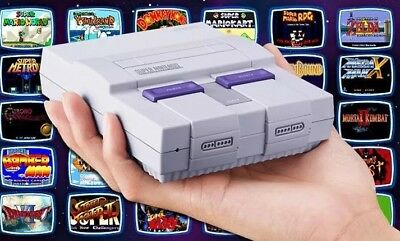SNES Classic * MOD SERVICE * Every SNES/NES Game + 11 Systems 2225+ Games!