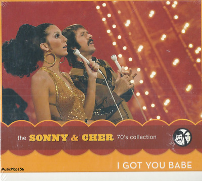 SONNY & CHER - The 70's Collection / I Got You Babe - Rock Pop Music CD