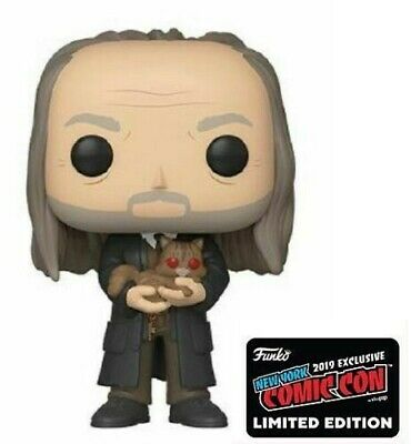Official Funko Pop! Harry Potter Filch with Mrs. Norris 2019 NYCC Exc. Presale