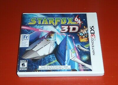 Star Fox 64 3D (Nintendo 3DS, 2011) -Complete
