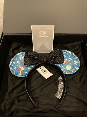 Disney Parks Designer Collection Loungefly Minnie Mouse Ears Headband BRAND NEW