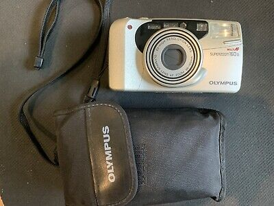 Olympus Superzoom 160 35mm Point&Shoot Film Camera,tested working.PS Camera.NOS