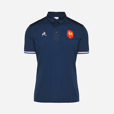 Polo Rugby Equipe de France 2019 'First Class 1 Day Delivery' Le Coq Sportif
