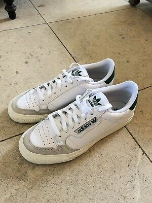 ADIDAS ORIGINAL CONTINENTAL 80 Vulc Trainers In Leather With