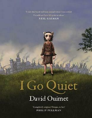 I Go Quiet by David Ouimet Hardcover Book Free Shipping!