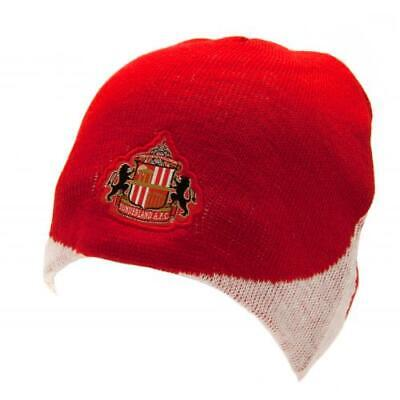 AFC Sunderland Knitted Hat Beanie Cap Gift Official Licensed Football Product