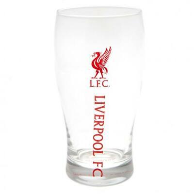 Liverpool FC Official Football Gift Beer Pint Glass Fathers Day